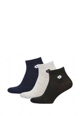 Спортивные носки Носки спортивные Lotto SOCK ANKLE II - PK3PRS (Упаковка,3 пары) S9372