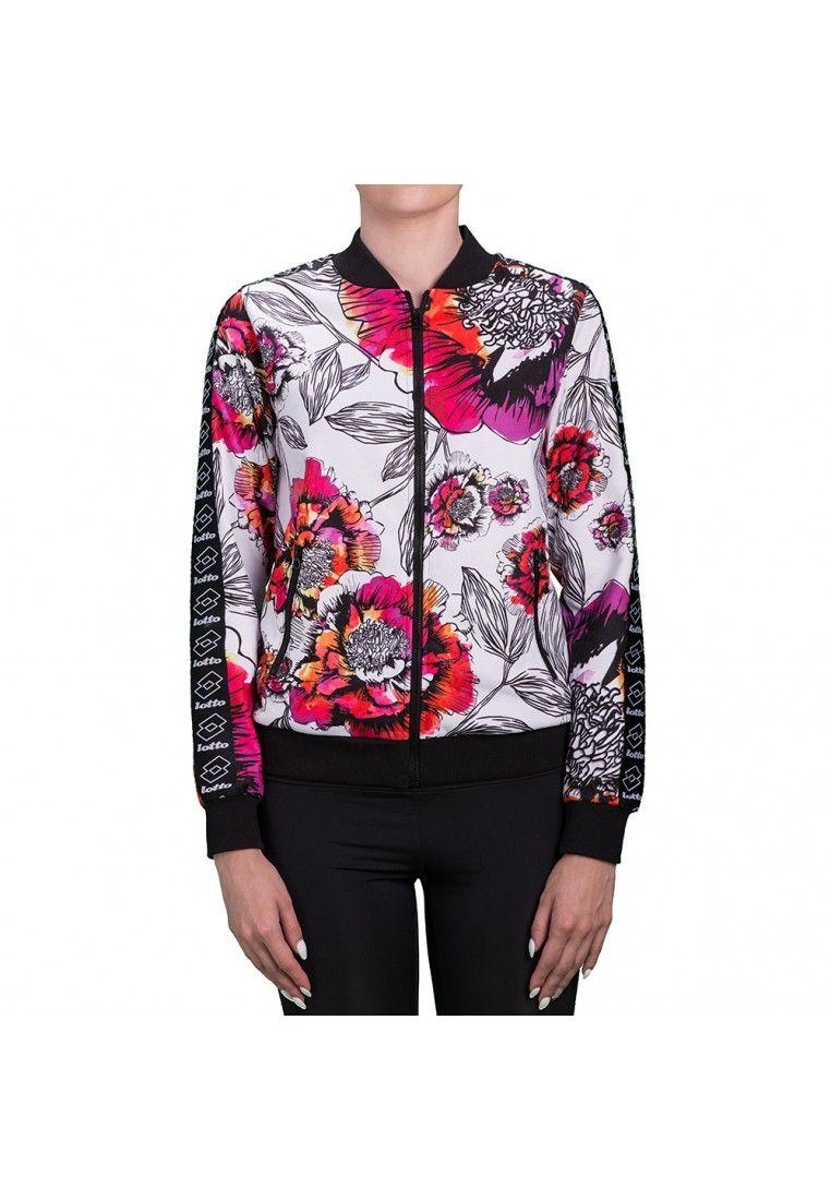 Спортивная кофта женская Lotto MILEY II SWEAT FZ S9846