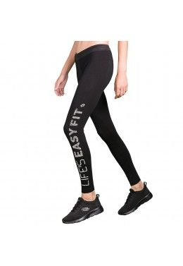 Леггинсы женские Lotto X-RUN LEGGINGS MID BS PL W 210426/1CL Леггинсы женские Lotto EASY FIT LEGGINGS W T3019