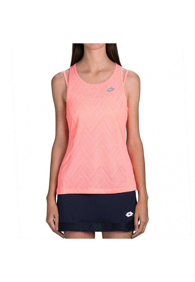 Майка для тенниса женская Lotto NIXIA IV TANK+BRA W T5078