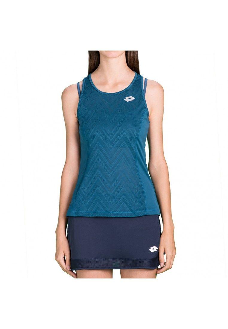 Майка для тенниса женская Lotto NIXIA IV TANK+BRA W T5079