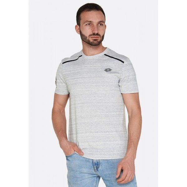 Купить Мужские футболки, Футболка мужская Lotto BRYAN VII TEE BS CANDY WHITE ML T5279, Хлопок/синтетика, Бангладеш