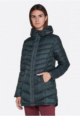 Женские куртки Куртка женская Lotto IZA IV LONG JKT PAD W T5505