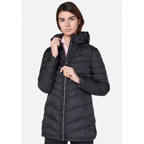 Купить Женские куртки, Куртка женская Lotto IZA IV LONG JKT PAD W BLACK T5506, Синтетика, Китай