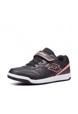 Спортивная обувь для девочек Кроссовки детские Lotto SET ACE XII JR SL T6657