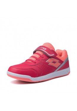 Спортивная обувь для девочек Кроссовки детские Lotto SET ACE XII JR SL T6659