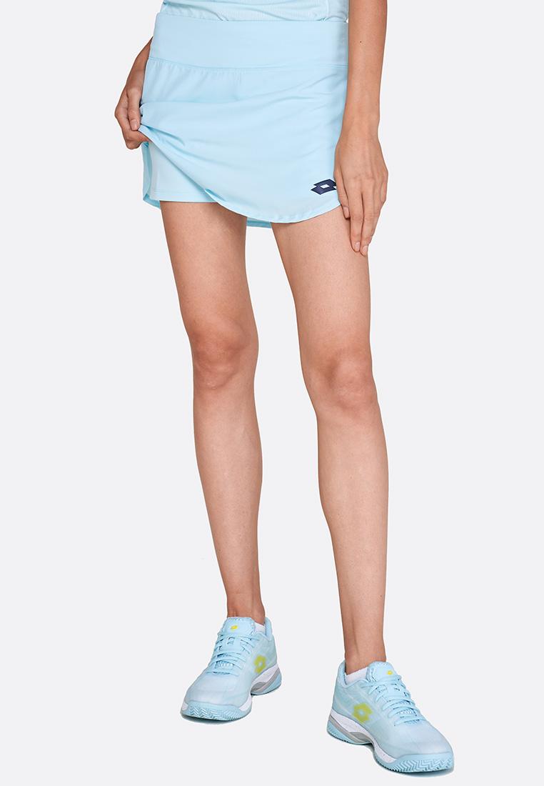 Купить Теннисные юбки, Теннисная юбка женская Lotto TOP TEN W SKIRT PL 210391/26J, CLEARWATER, Синтетика