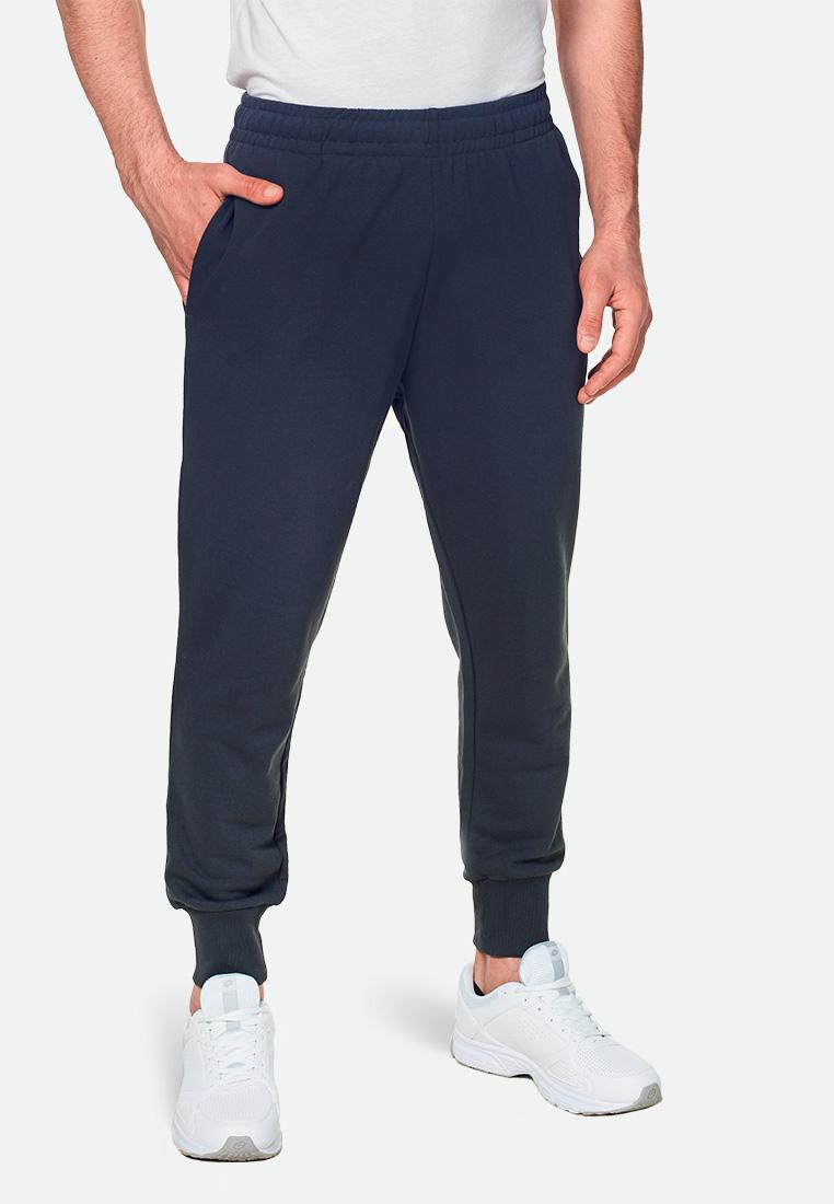 Купить Спортивные штаны мужские Lotto PANT MILANO RIB FT 211028/014, EBONY, Хлопок/синтетика