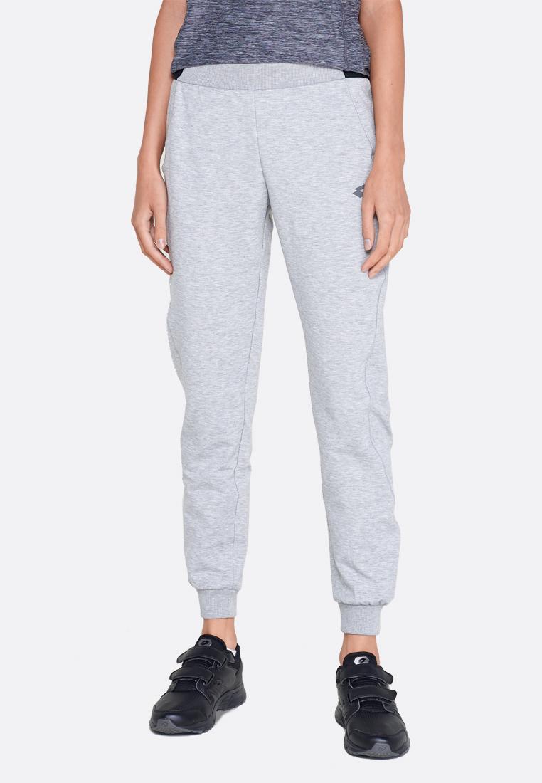 Купить Спортивные штаны женские Lotto DINAMICO W PANT RIB MEL PL 211419/1CW, COOL GRAY 6C, Синтетика
