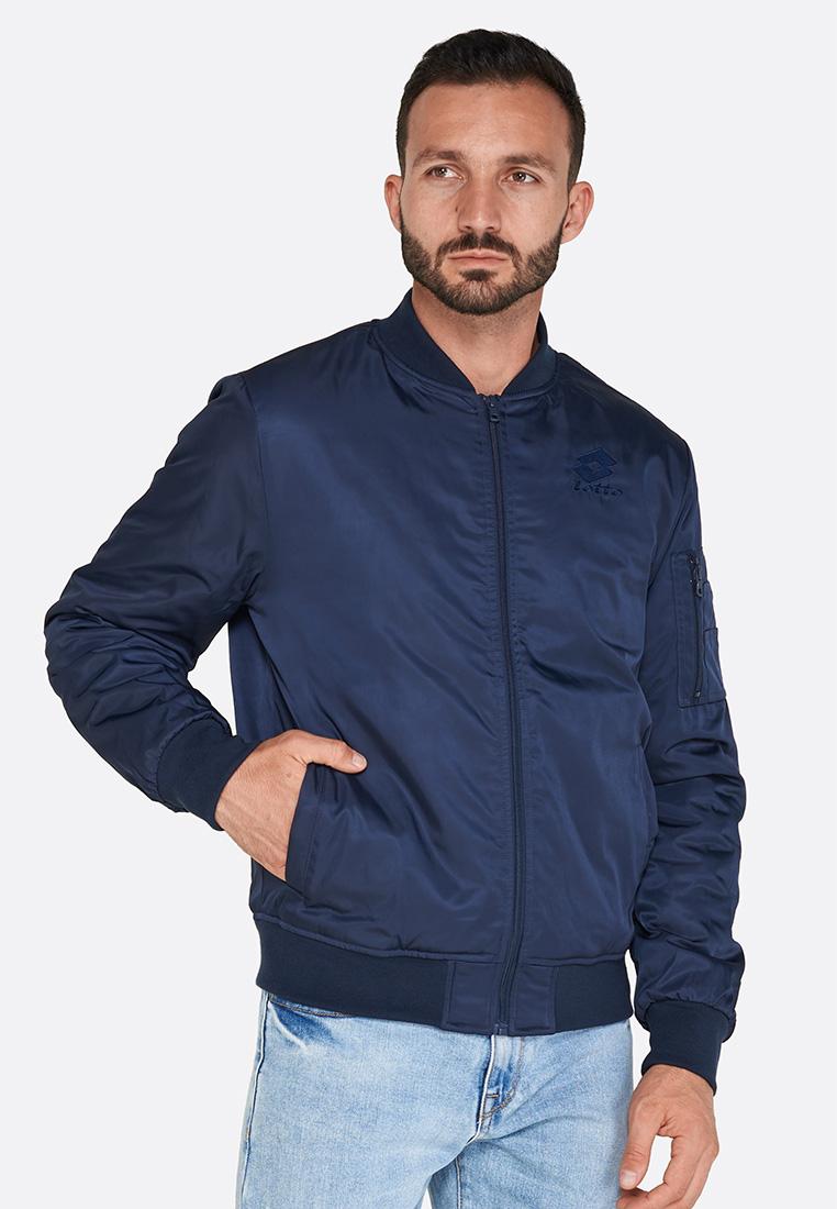 Купить Куртка мужская Lotto BOMBER DOLOMITI PL 211724/1CI, NAVY BLUE, Синтетика