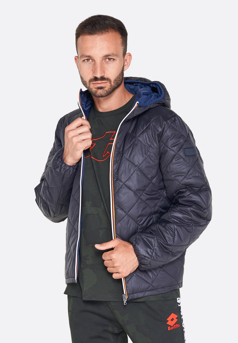 Купить Куртка мужская двухсторонняя Lotto BOMBER ST MORITZ HD PL 211725/2D3, ALL BLACK/NAVY BLUE, Синтетика