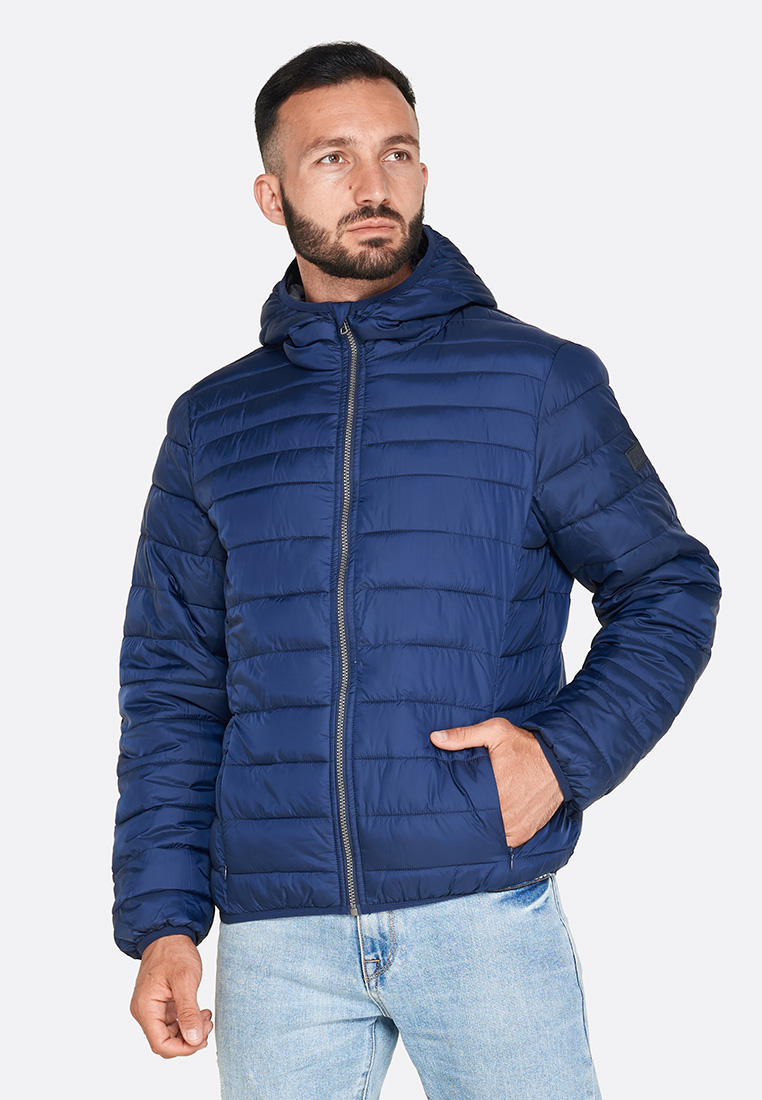 Купить Куртка мужская Lotto BOMBER CORTINA HD LG PAD PL L58640/1CI, NAVY BLUE, Синтетика