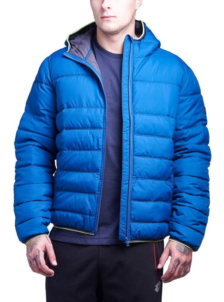 Купить Куртка мужская Lotto JONAH III BOMBER HD PAD S9345, BLUE OIL, Синтетика