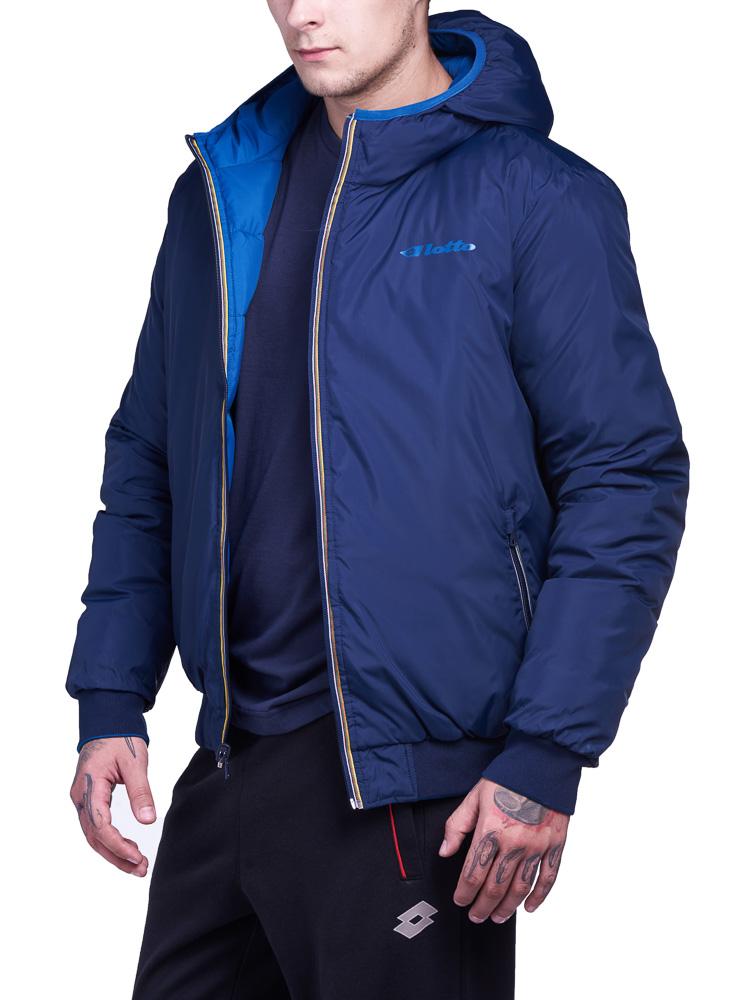 Купить Куртка мужская Lotto JONAH III BOMBER HD TWIN S9348, BLUE OIL/NAVY, Синтетика