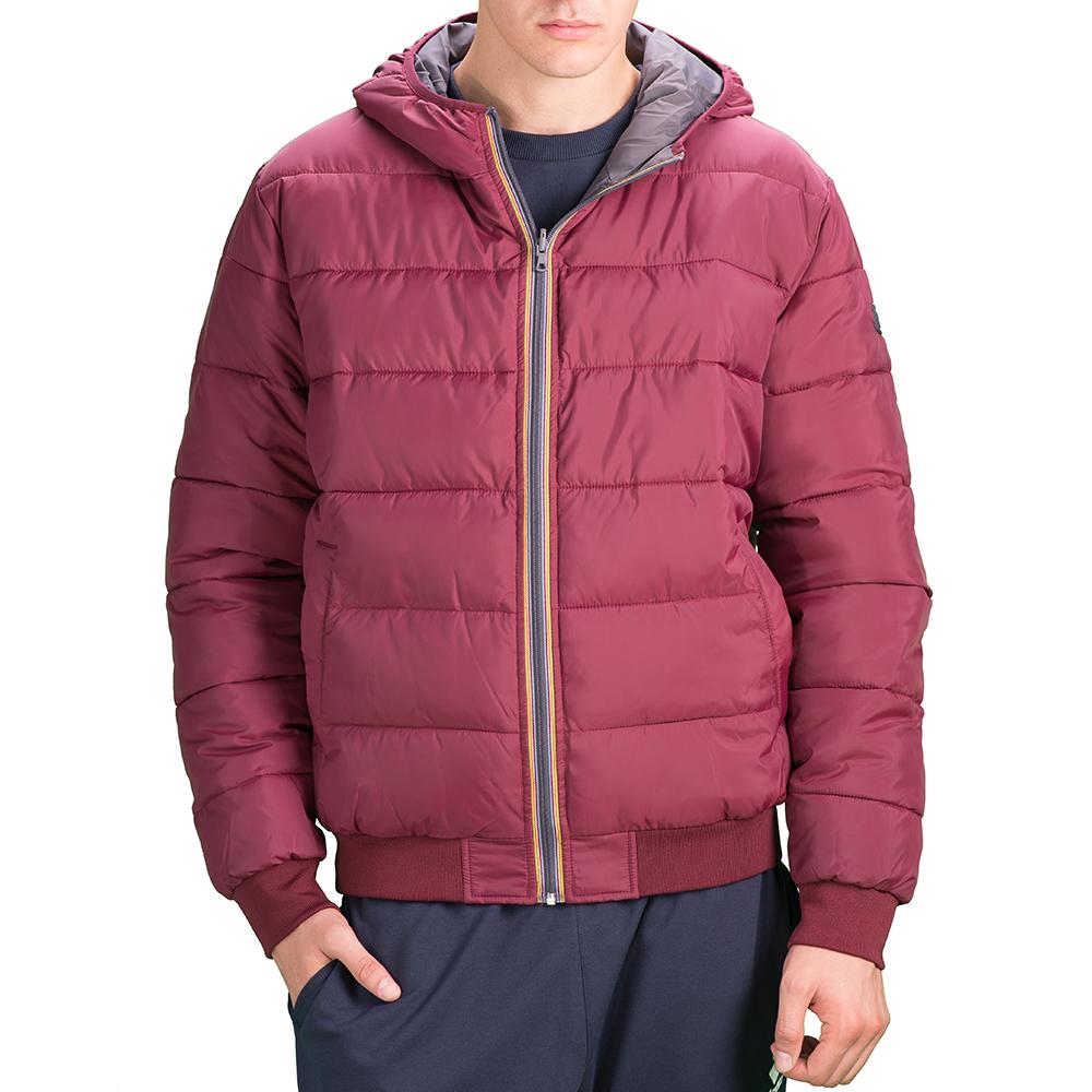 Купить Куртка мужская Lotto JONAH III BOMBER HD TWIN S9349, RED ACER/FOSSIL, Синтетика