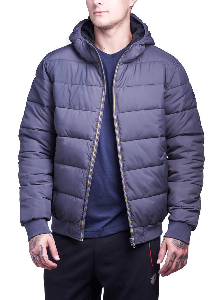Купить Куртка мужская Lotto JONAH III BOMBER HD TWIN S9350, FOSSIL/BLACK, Синтетика
