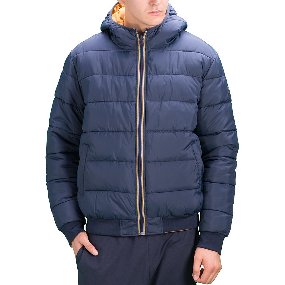 Купить Куртка мужская Lotto JONAH III BOMBER HD TWIN S9351, NAVY/YELLOW 7550, Синтетика