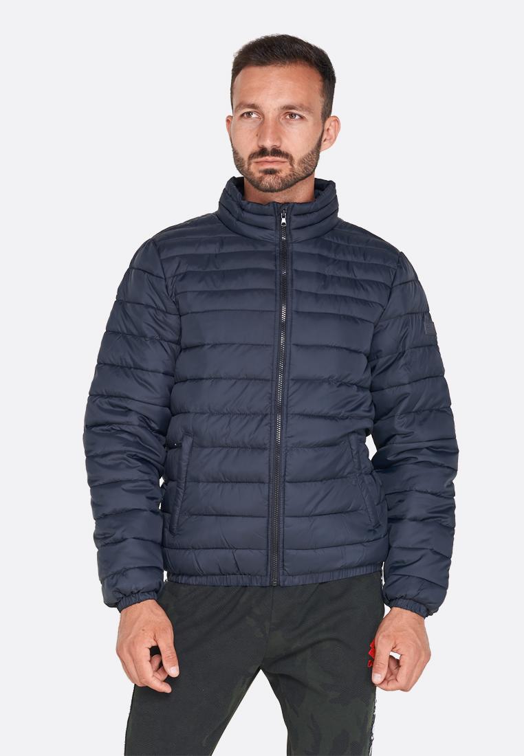 Купить Куртка мужская Lotto JONAH IV BOMBER PAD T5487, BLACK, Синтетика