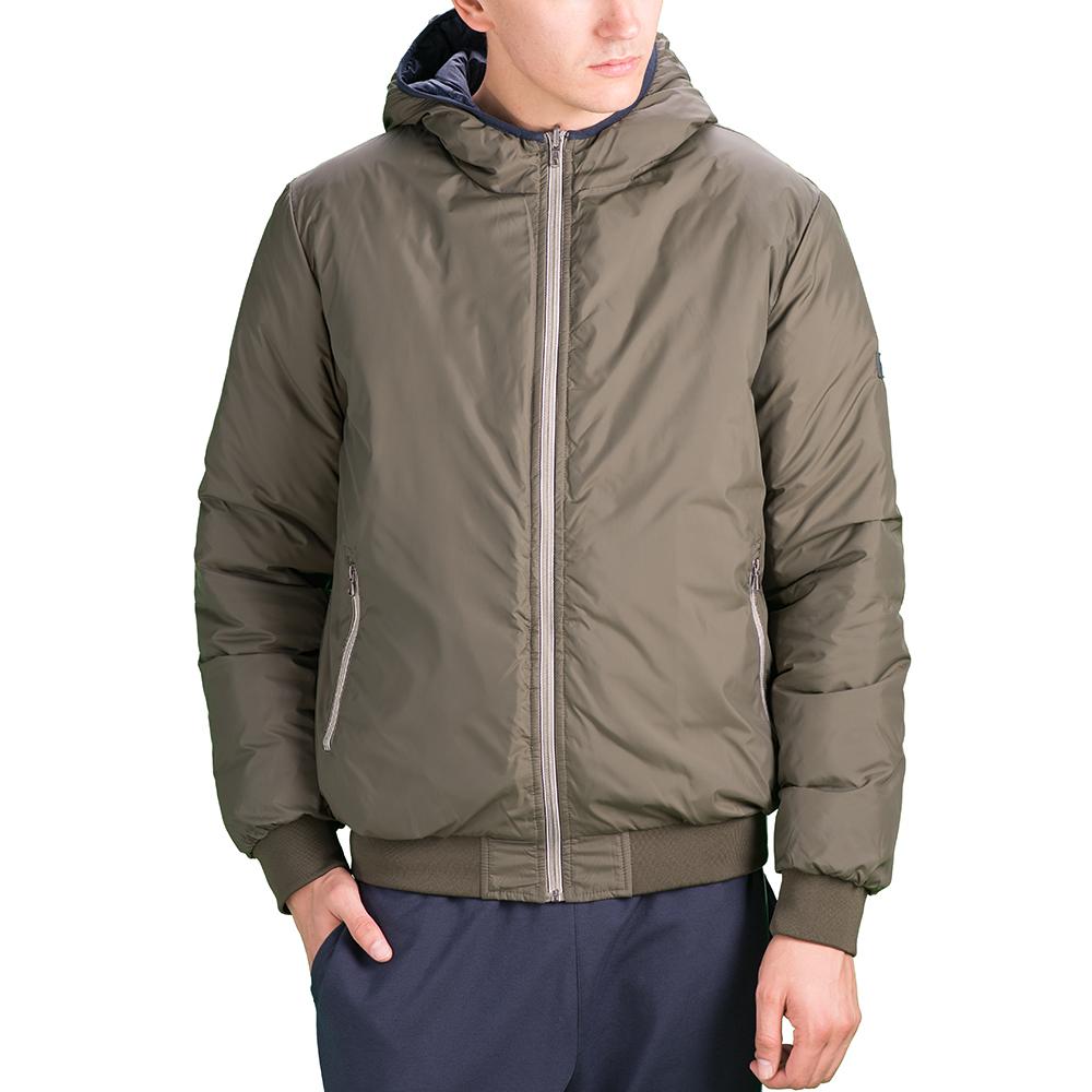 Купить Куртка мужская Lotto JONAH IV BOMBER HD TWIN T5492, NAVY MELANGE/GREEN TEA DARK, Синтетика