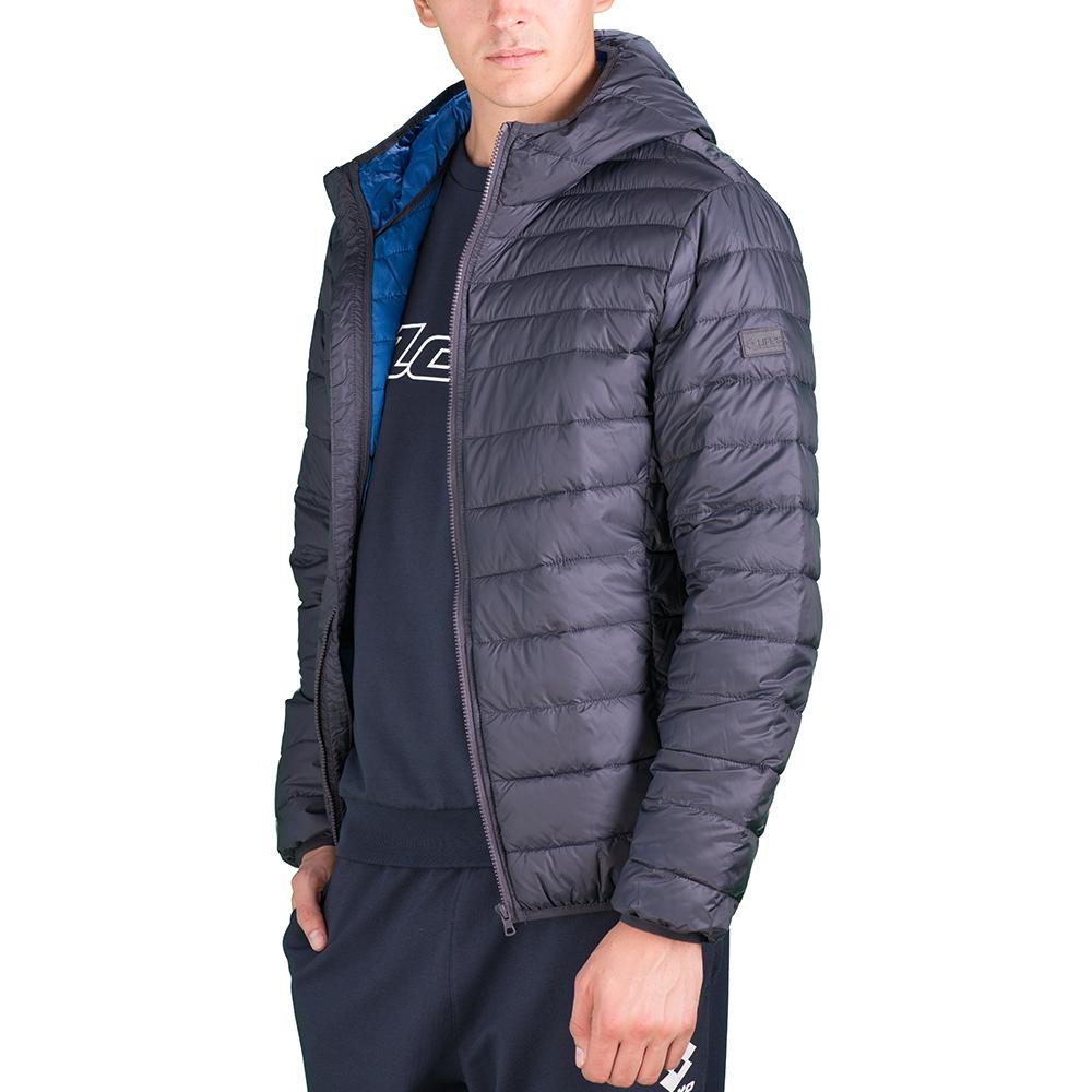 Купить Куртка мужская Lotto JONAH IV BOMBER LIGHT PAD T5495, GREY SHAKE, Синтетика